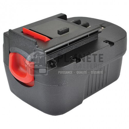 Batterie type BLACK & DECKER - 14.4V NiMH 2Ah