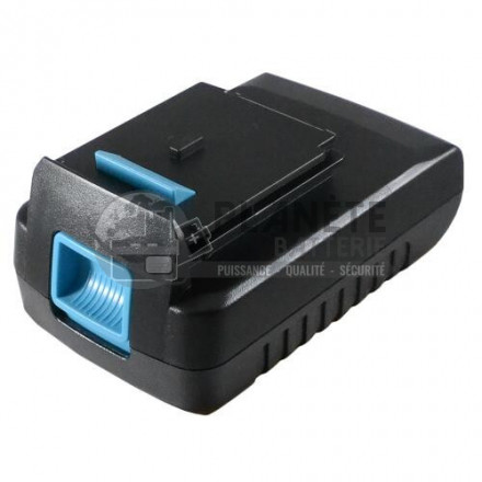 Batterie type BLACK & DECKER A1518L - 18V Li-Ion 2Ah