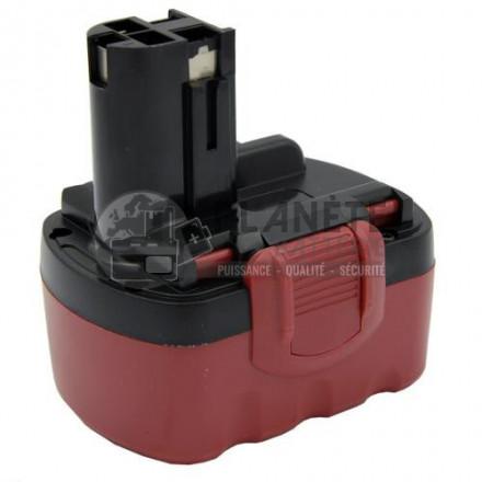 Batterie type BOSCH 2607335694/490 14.4V NiMH 3Ah