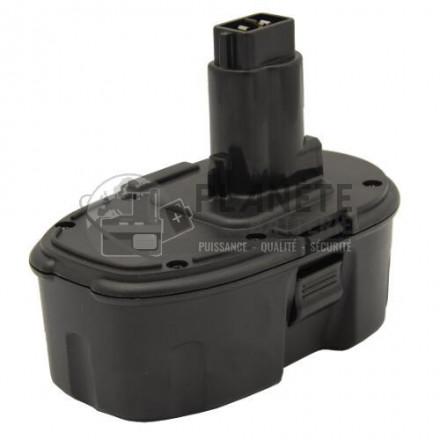 Batterie type DEWALT DE9039 - 18V NiMH 3Ah