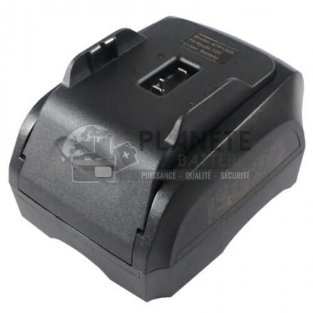Chargeur compatible RYOBI 7,2V - 18V NiCD + NiMH + Li-Ion
