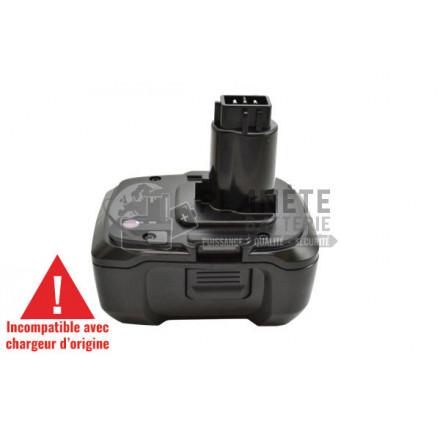 Batterie type DEWALT DE9180 - 18V Li-Ion 3Ah