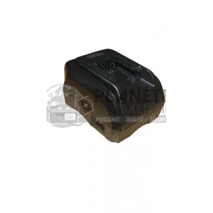 Chargeur compatible Black&Decker 7,2V - 18V NiCD + NiMH + Li-Ion