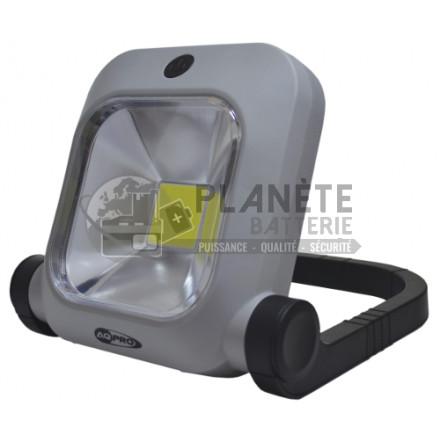 Projecteurs de chantier rechargeables compact AQ PRO