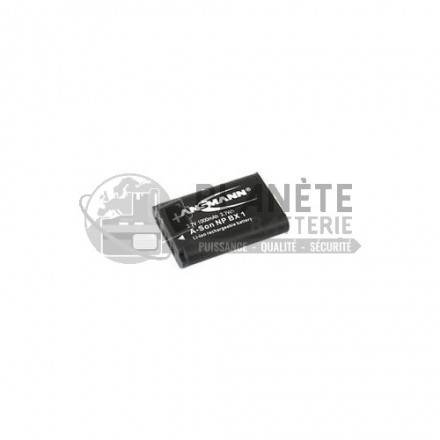 Batterie type Sony NP-BX1 appareil photo Sony - 3.7V, Li-Ion, 1000mAh, 3.7Wh