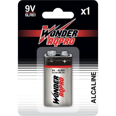 Pile 9V 6LR61 - 9V - WONDER AQPRO