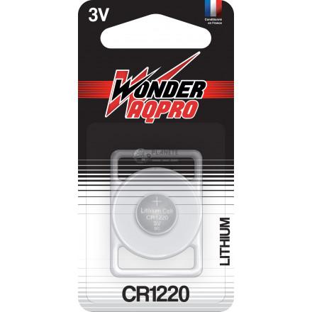 Pile CR1220 - 3V - WONDER AQPRO
