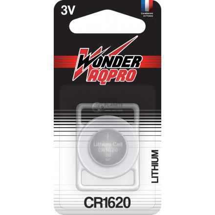 Pile CR1620 - 3V - WONDER AQPRO