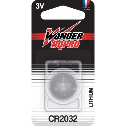 Pile CR2032 - 3V - WONDER AQPRO