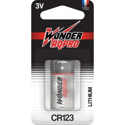 Pile CR123 - 3V - WONDER AQPRO