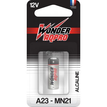 Pile CR23A - 12V - WONDER AQPRO