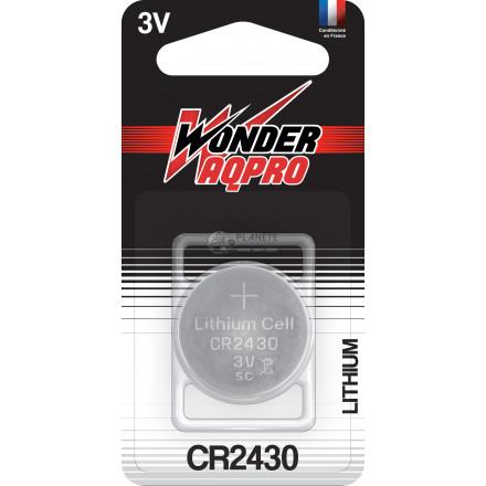 Pile CR2430 - 3V - WONDER AQPR