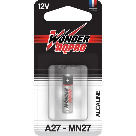 Pile 27A - 12V - WONDER AQPRO