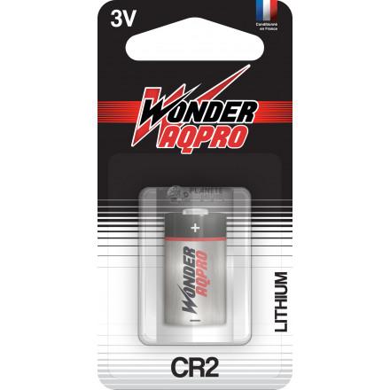 Pile CR2 - 3V - WONDER AQPR