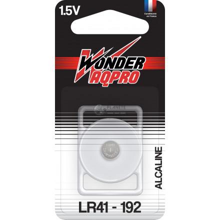 Pile LR41/192 - 1.5V - WONDER AQPRO