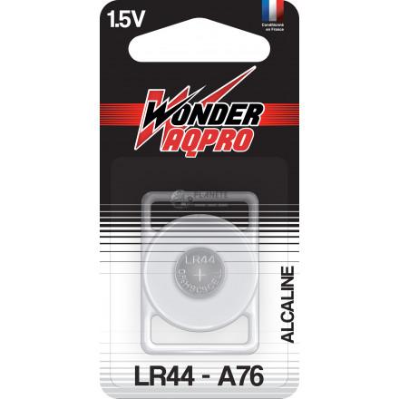 Pile LR44/A76 - 1.5V - WONDER AQPRO