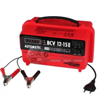 Chargeurs de batteries plomb : CHARGEUR BATTERIE PLOMB VÉHICULE 12V - BCV 12-15 START – ANSMANN