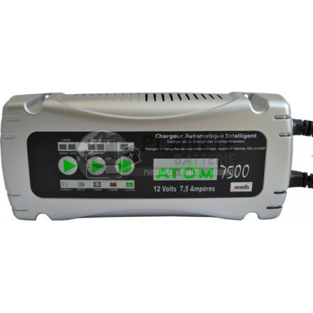 CHARGEUR INTELLIGENT POUR BATTERIES AU PLOMB 6-12V