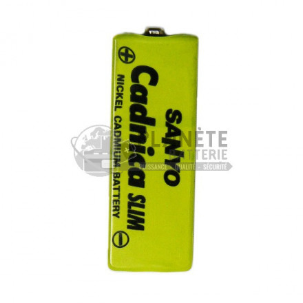 ACCUMULATEUR PRISMATIQUE - KF-B450 - 1,2V - 450MAH - NICD - SANYO
