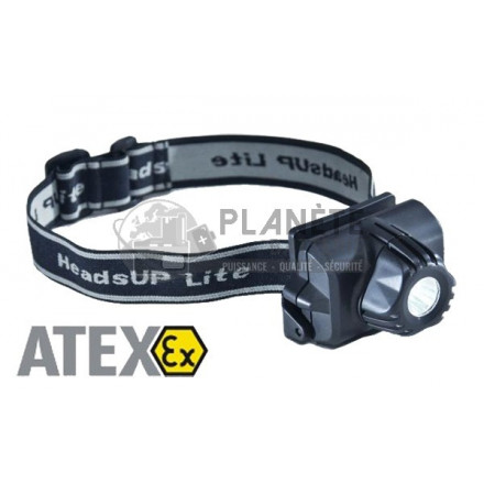 LAMPE FRONTALE PROFESSIONNELLE ATEX ZONE 0 À LED - PELI 2690Z0