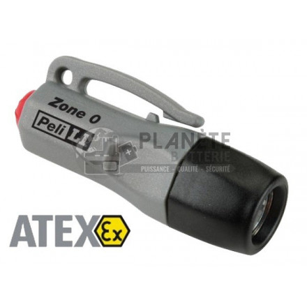 MINI LAMPE TORCHE ATEX ZONE 0 À LED - PELI 1930Z0