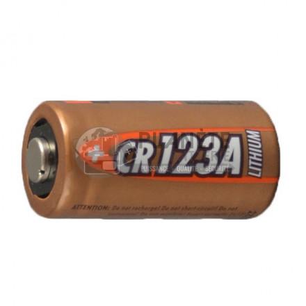 Pile lithium CR123A - 3V - ANSMANN