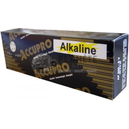 Pile FP620 sortie 6V ou 9 V alcaline AQPRO