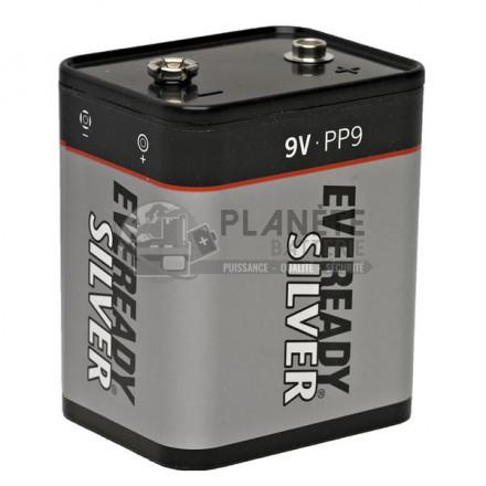 Pile Alcaline : Pile alarme - PP9 - Alcaline 9V - AQPRO