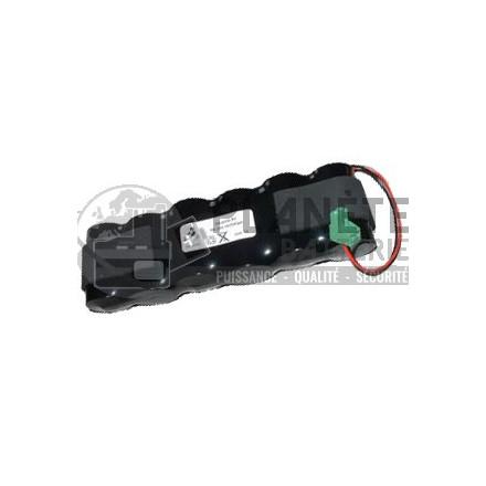 Pack de piles alcalines compatible Talco BPX6416204 9V 18Ah BATSECUR