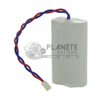 Pile lithium compatible Label Cesar BL2 6V 2Ah BATSECUR