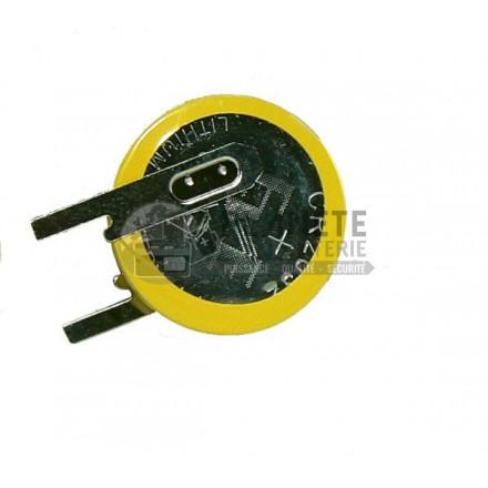 Pile lithium compatible Label Cesar BL220 3V 220mAh BATSECUR