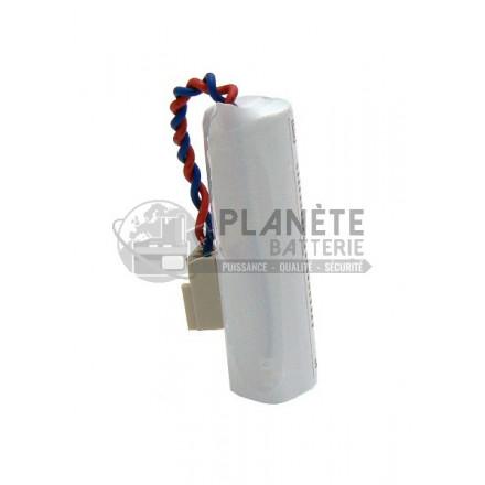 Pile lithium compatible Daitem BATLI04 3.6V 2Ah BATSECUR