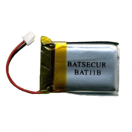 Pile lithium compatible Daitem BATLI11B 3.6V 270mAh BATSECUR