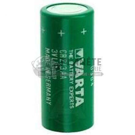 Pile Lithium : Pile lithium industrielle CR2/3AA 3V 1350mAh VARTA