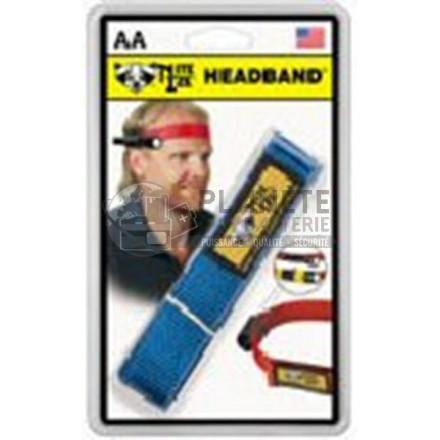 Bandeau de tête pour torche MAGLITE mini R6 ou super mini R3