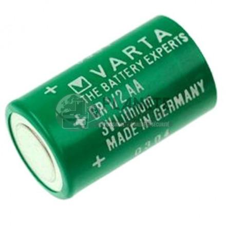 Pile Lithium : Pile CR1/2AA lithium industrielle 3V VARTA