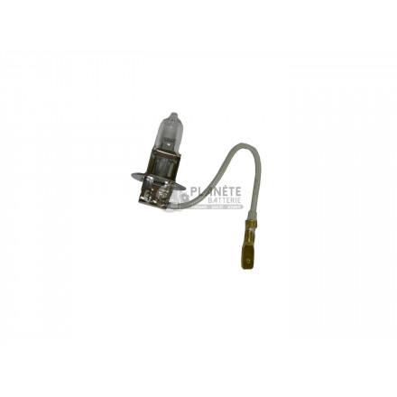 Accessoires et Ampoules : Ampoule Halogène H3 - Culot PK22S - 24V - 70W