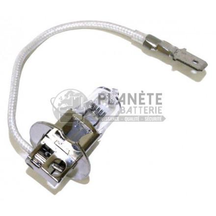 Accessoires et Ampoules : Ampoule Halogène H3 - Culot PK22S - 6V - 75W