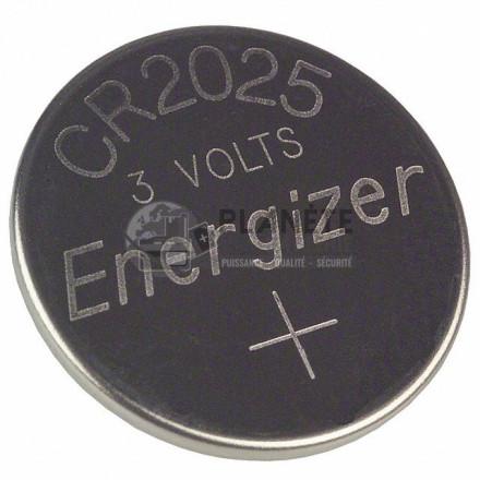 Pile CR2025 - Lithium - 3V ENERGIZER