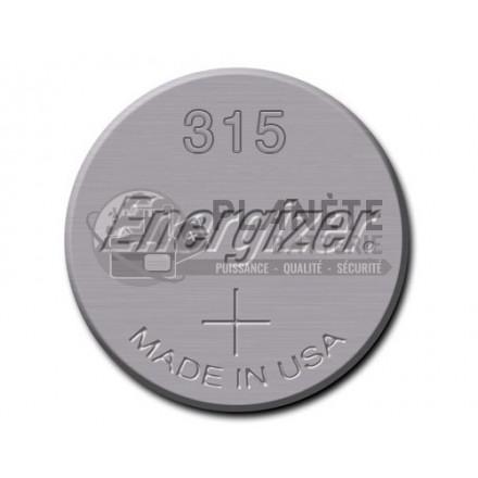 Pile bouton - Oxyde d'argent 315 - SR67 - 1.55V ENERGIZER