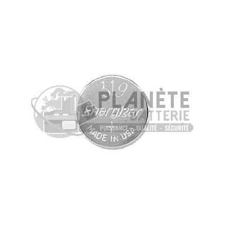 Pile Oxyde d'argent : Pile bouton - Oxyde d'argent 319 - SR64 - 1.55V ENERGIZER