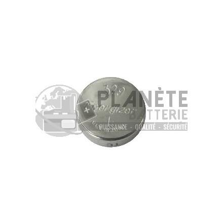 Pile Oxyde d'argent : Pile bouton - Oxyde d'argent  329 - SR731 - 1.55V - ENERGIZER