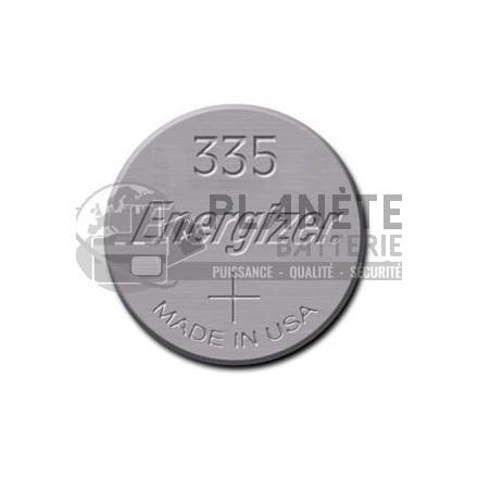 Pile Oxyde d'argent : Pile bouton - Oxyde d'argent 335 - SR512 - 1.55V - ENERGIZER