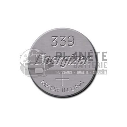 Pile Oxyde d'argent : Pile bouton - Oxyde d'argent  339 - SR614 - 1.55V ENERGIZER