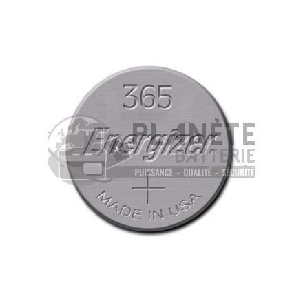 Pile Oxyde d'argent : Pile bouton - Oxyde d'argent  365 - SR1116 - 1.55V - ENERGIZER