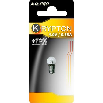 Ampoule Krypton A.Q.PRO - Culot à vis - 4V - 0.55A