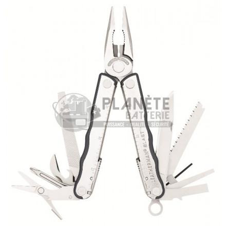 Pince multifonctions métal - LEATHERMAN Blast - 16 fonctions - Etui cuir