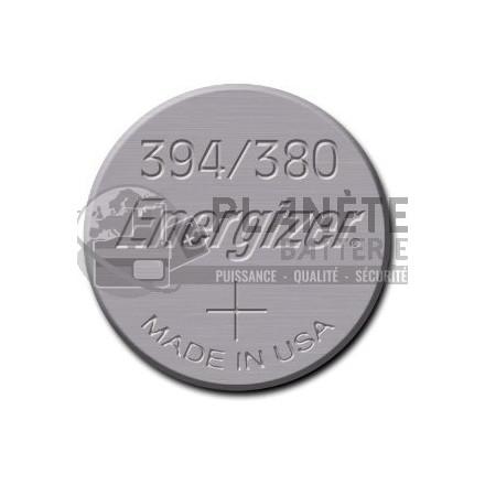 Pile Oxyde d'argent : Pile bouton - Oxyde d'argent  394 - 380 - SR45 - 1.55V - ENERGIZER