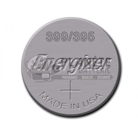 Pile Oxyde d'argent : Pile bouton - Oxyde d'argent 395 - 399 - SR57 - 1.55V - ENERGIZER