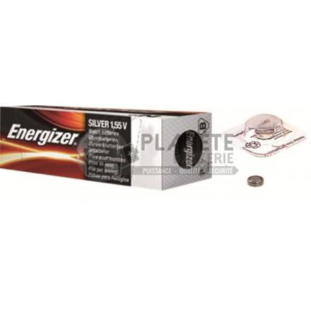 Pile Oxyde d'argent : Pile bouton - Oxyde d'argent  397 - 396 - SR59 - 1.55V ENERGIZER